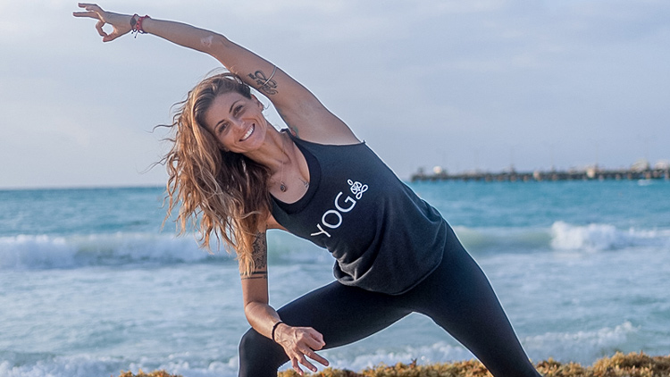 Yoga Photographer Play Del Carmen