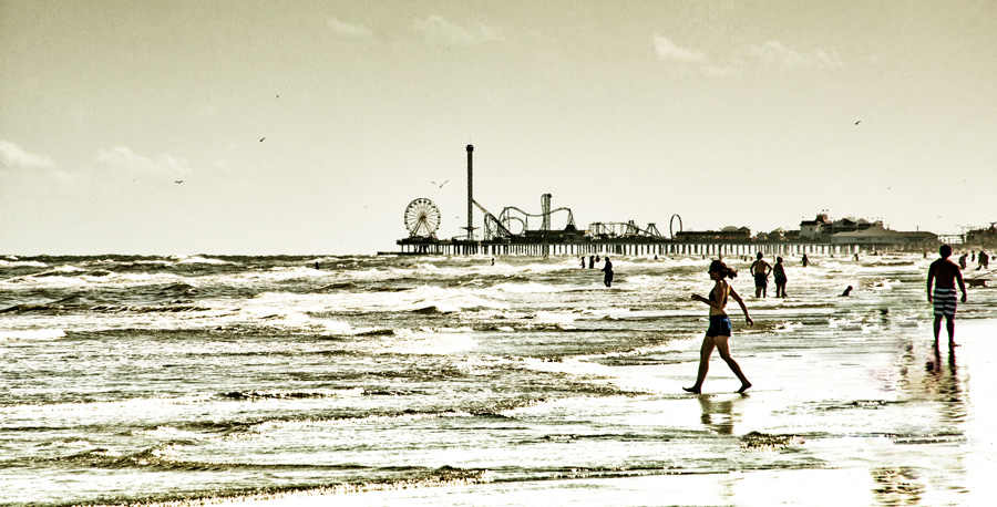 Galvestion Island Beach Photography