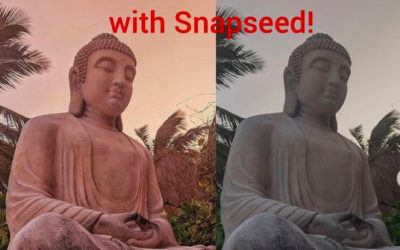 Snapseed Editing Video – Improve your Image in 3 minutes.