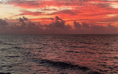 Sunrise at the Beach Phone Wallpaper